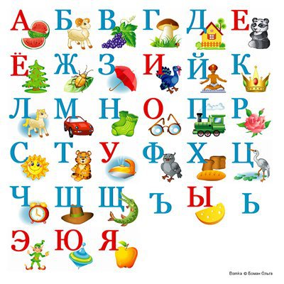 Fan image for russian alphabet printable