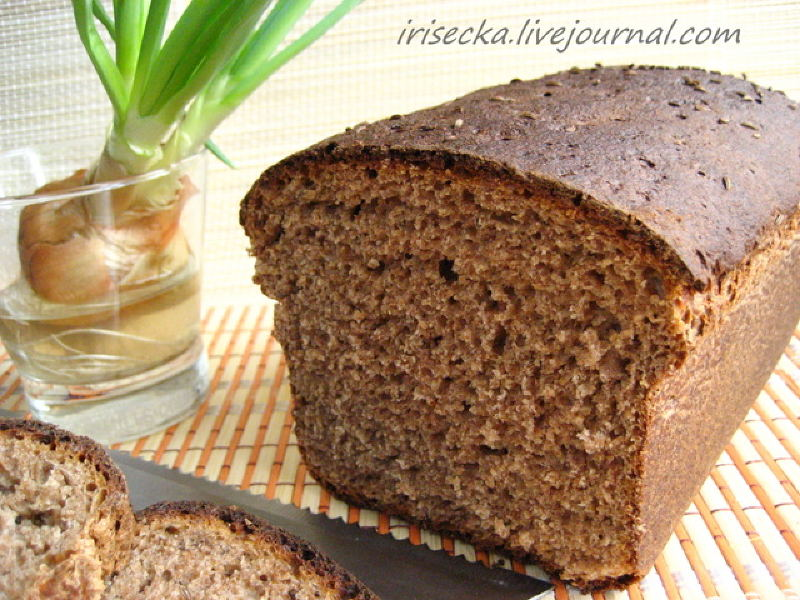 one for a delicious black bread from irisecka on russia s blog portal