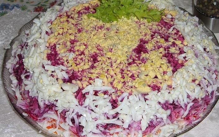 Салат селедка шубой фото