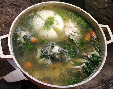 Uha fish soup 2