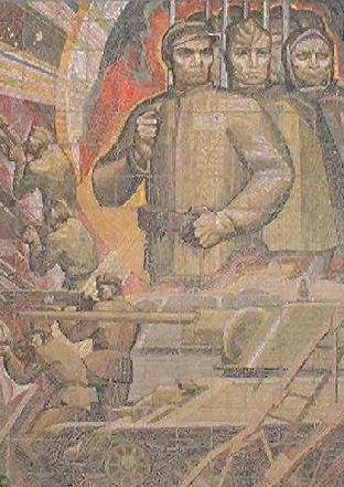 V old soviet poster