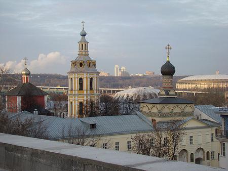 Andrew Monastery Moscow 2