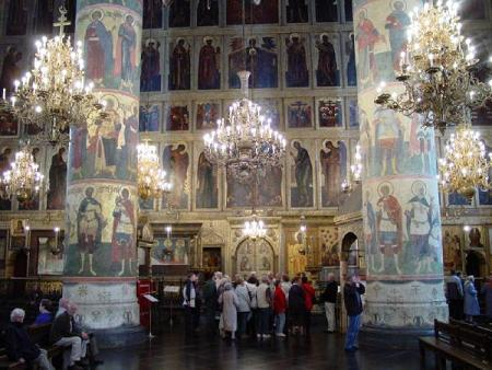 Assumption cathedral interior