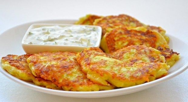 Zucchini cutlets