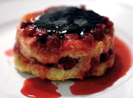 cranberry topping