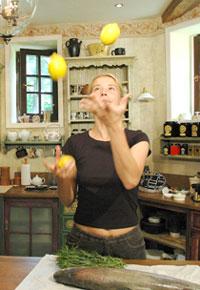 Eat at home lemons