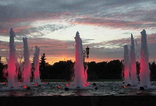 Victory fountains A