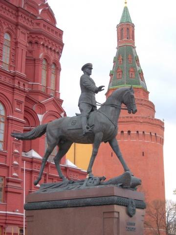 Marshal of the Soviet Union Georgy Konstantinovich Zhukov