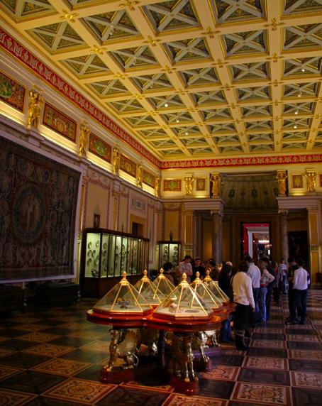 Hermitage display