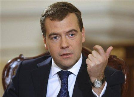 Medvedev election