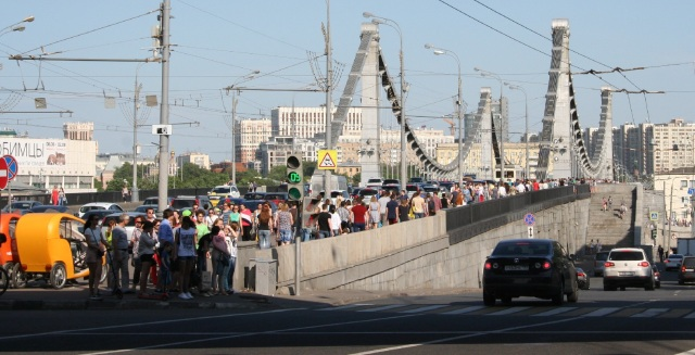 Krymsky Bridge, Moscow. Copyright: The Mendeleyev Journal.