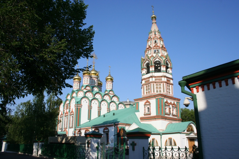 Church of Saint Nickolas at Khamovniki. Copyright: The Mendeleyev Journal.