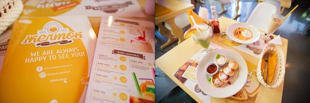 Zheltok restaurant