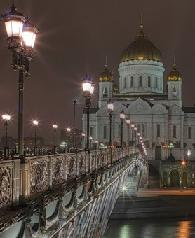 Moscow's main church, Christ the Saviour Cathedral. (photo: neoguru.livejournal)
