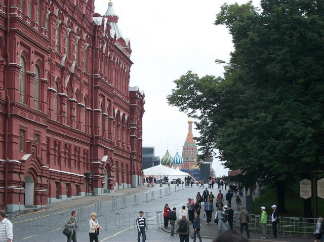 Red Square corner
