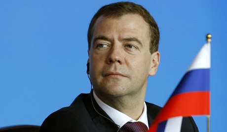 Dmitry Medvedev, Prime Minister of Russia.