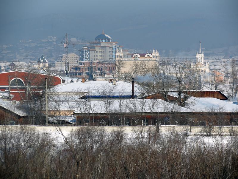 Approaching Ulan-Ude on the Trans Siberian Railway. (foto: varandej.livejournal)