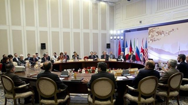 """P5+1"" talks with Iran in Almaty, Kazakhstan. (photo: presstv.com)"
