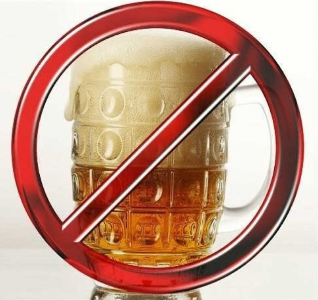 beer ban