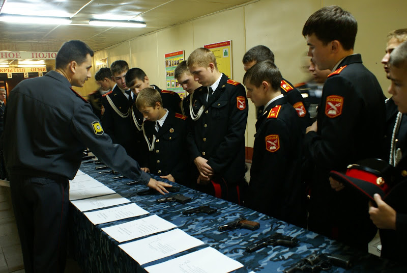 Moscow Cadets school.