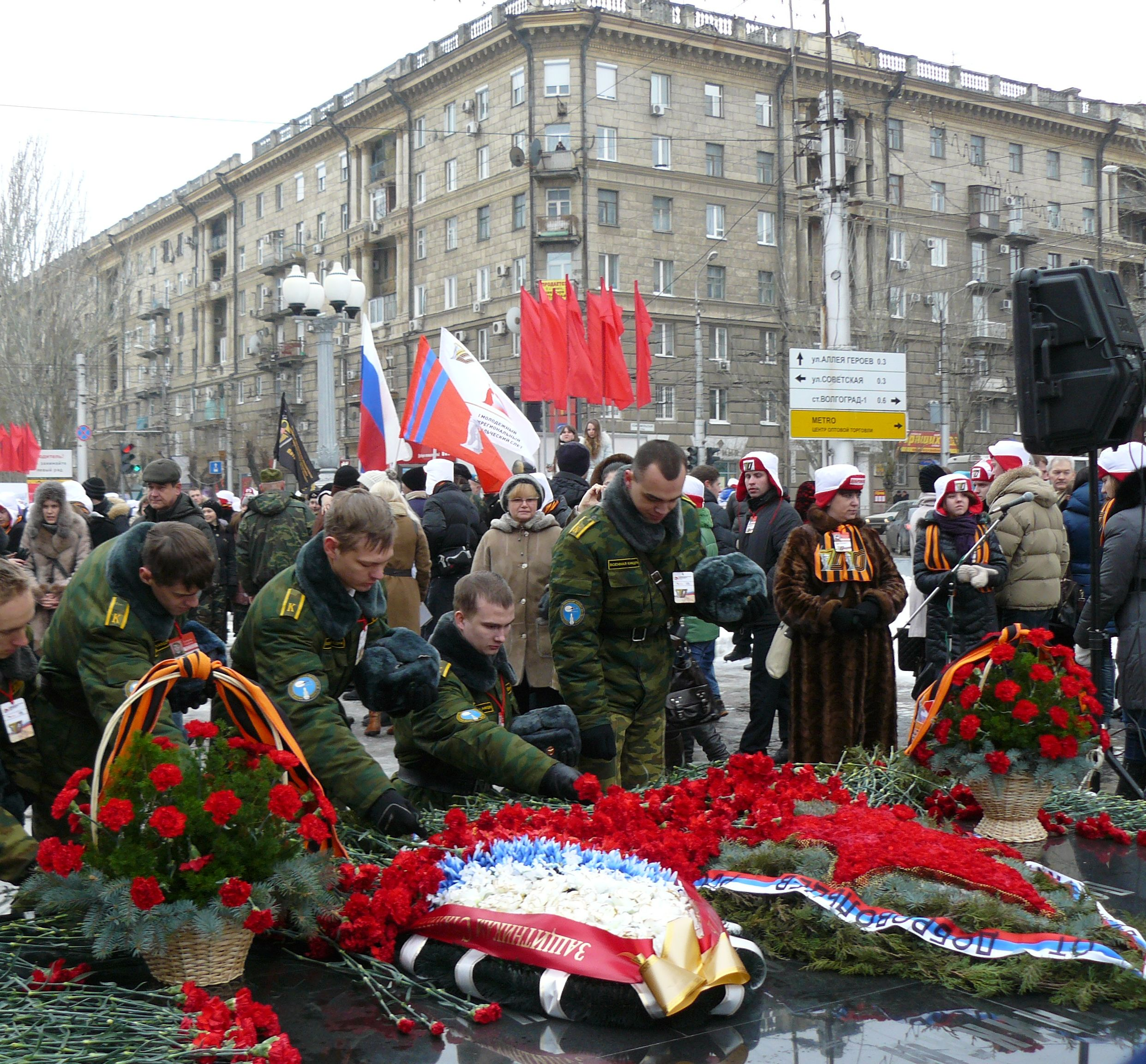 The Battle for Stalingrad remembered – The Mendeleyev Journal – Live From Moscow