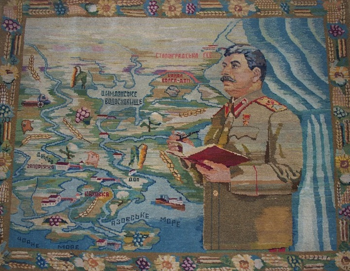 Stalin blanket map