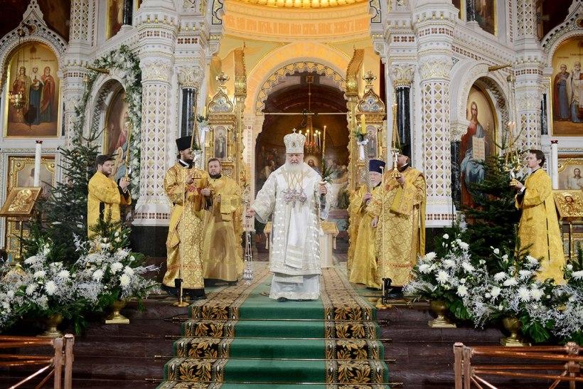 Russian Orthodox Church Patriarch Kirill.