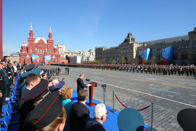 Victory Day 2013 putin speech