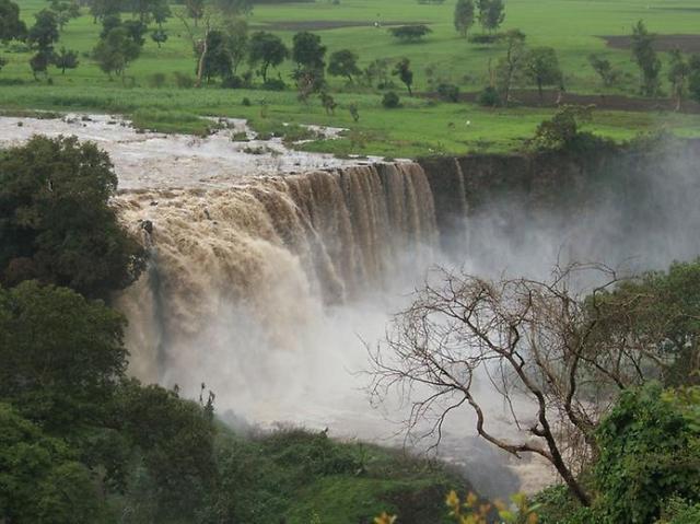 Ethiopia: the Nile River.