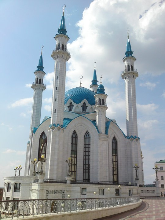 Kazan blue outside a