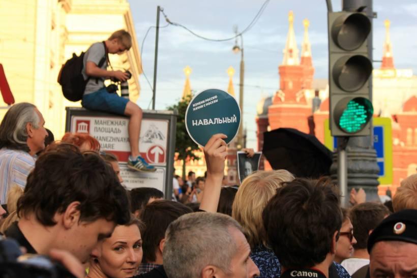 Navalny sentence reaction Marina Perfileva a
