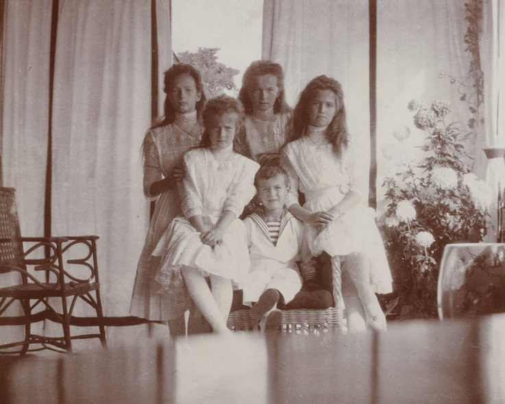 Romanov children