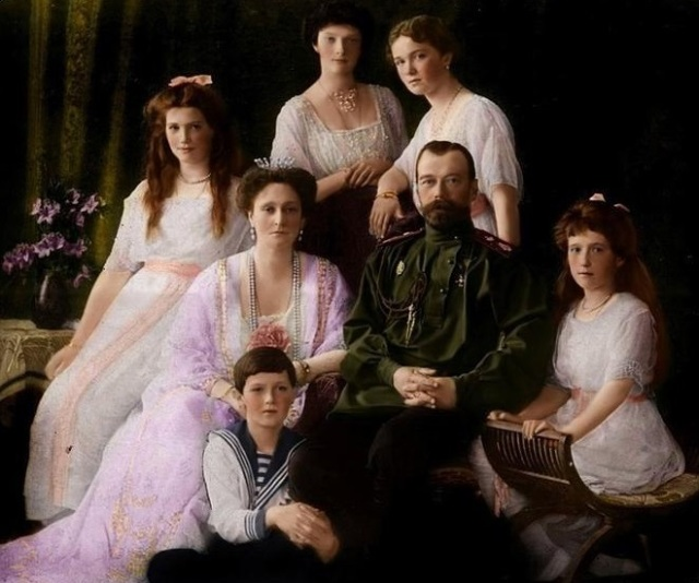 Romanov colourized