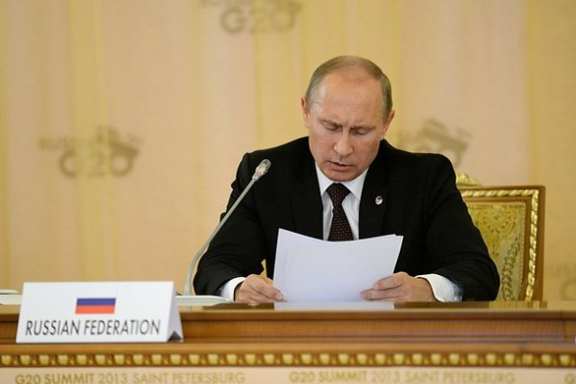 Russia's Vladimir Putin is President of the G20 for 2013.