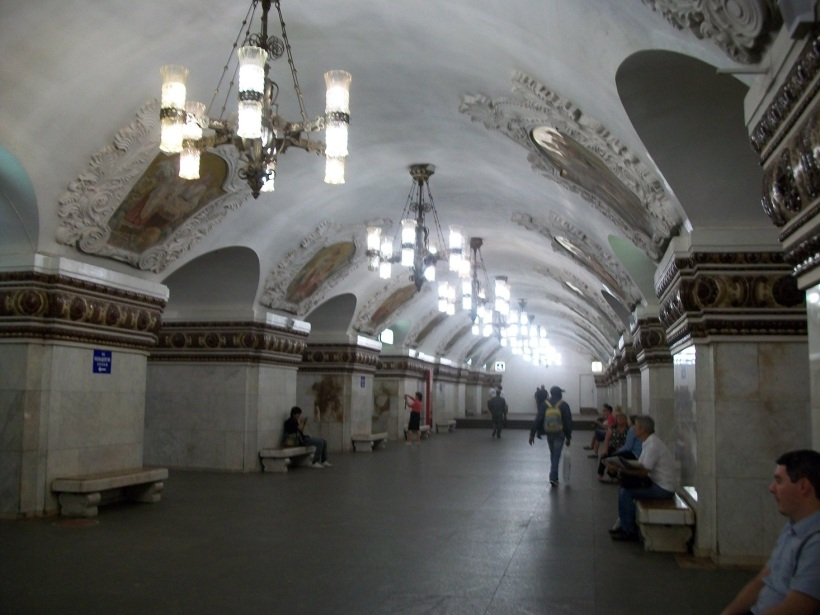 Metro Kievskaya 8-24-11 Moscow 320 Arbat line