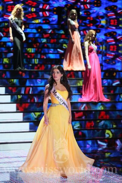 Representing Russia was Miss Elmira Abdrazakova.