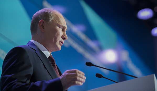 Pesident Vladimir Putin, RIA Novosti.