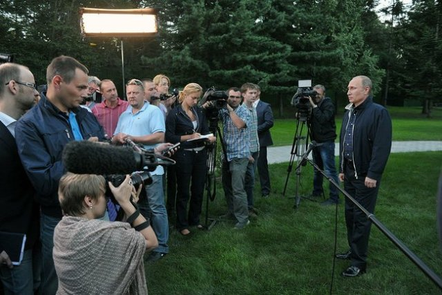 Vladivostok: Press Conference with President Putin, 31 August 2013.