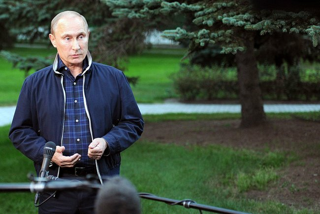 Vladivostok: Press Conference with President Putin, 31 August 2013.