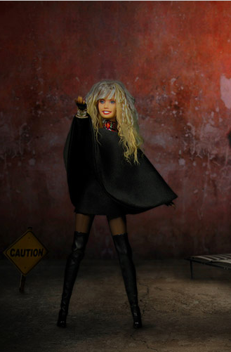 Barbie anniversary doll based on singer Alla Pugacheva.
