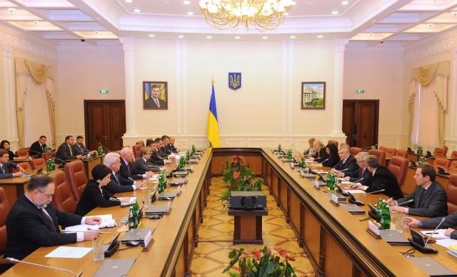 EU Commission meetings in Ukraine.