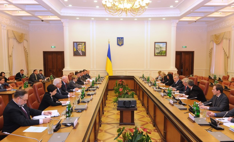 EU Commission meetings in Ukraine.