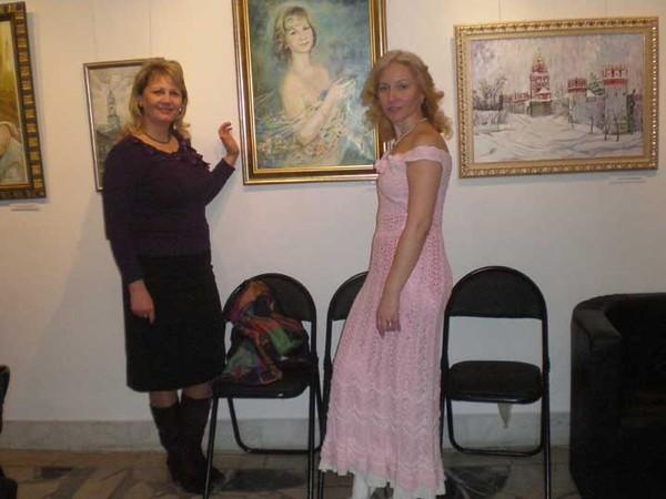 March 2010 exhibition N Logunovoi