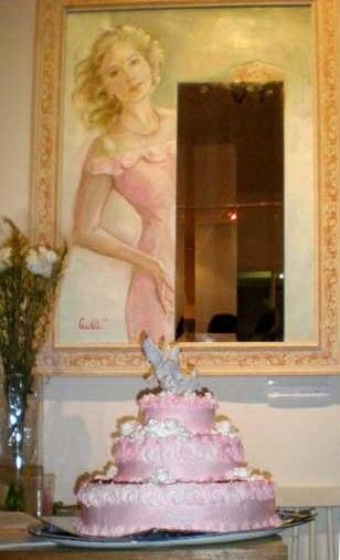 March 2010 exhibition self portrait with mirror
