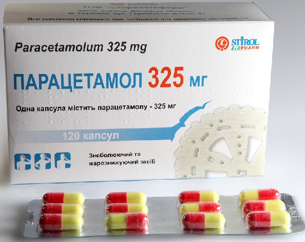 Парацетамол = Paracetamol, an Acetaminophen said to be good for flu/colds.
