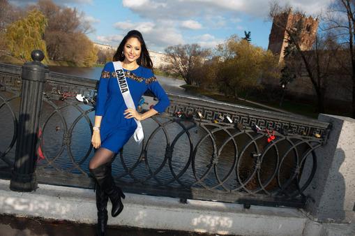 Miss Universe Novodevichy Convent 2013 Riza Santos of Canada