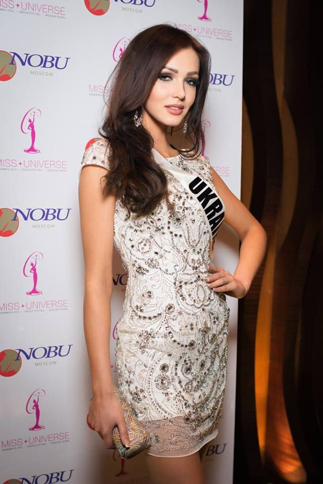 Miss Ukraine, Olga Storozenko, made it to the Top 10 finalists.