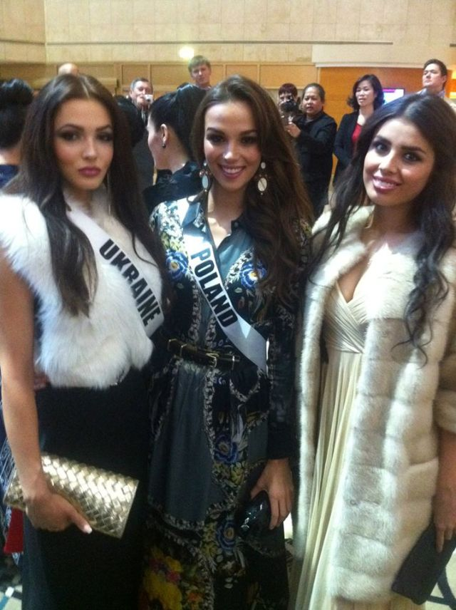 Miss Universe Ukraine Poland Russia