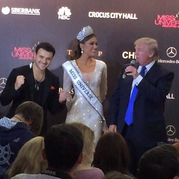 The Miss Universe pageant is co-owned by Donald Trump and NBC.