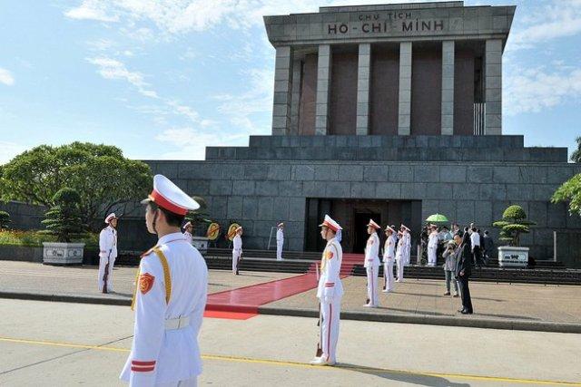 Chi Minh Mausoleum, Vietnam.
